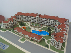 Triumph Holiday Village- Model View 1